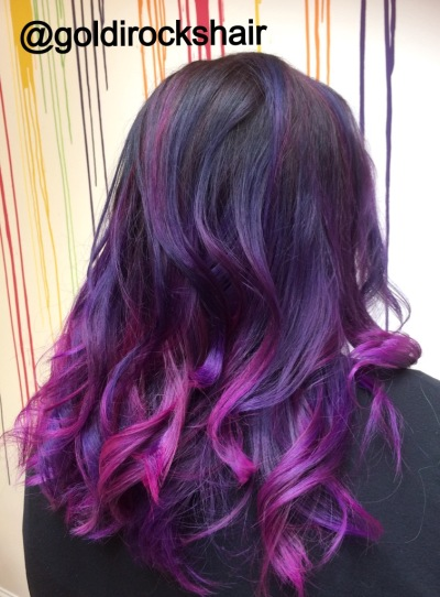 Direct Dye Purple & Pink